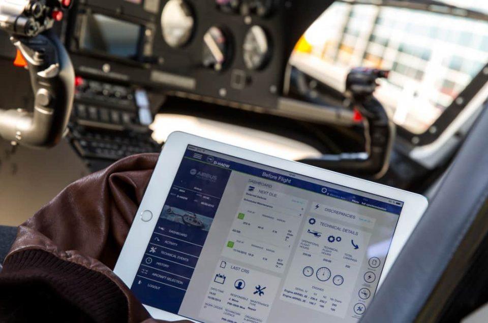 Corail Hélicoptères, client du lancement de Fleet Keeper