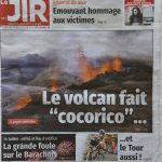 article volcan eruption