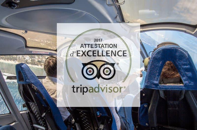 attestation excellence tripadvisor activité reunion