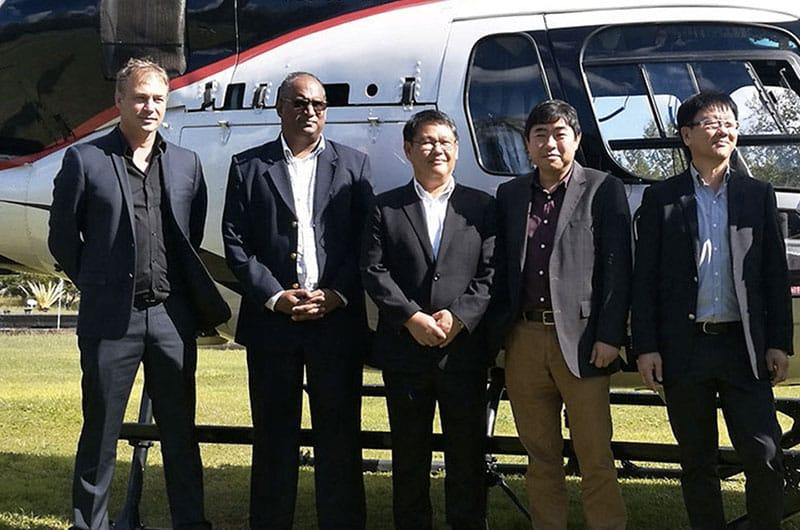 Le leader réunionnais Corail Hélicoptères s'installe à Maurice