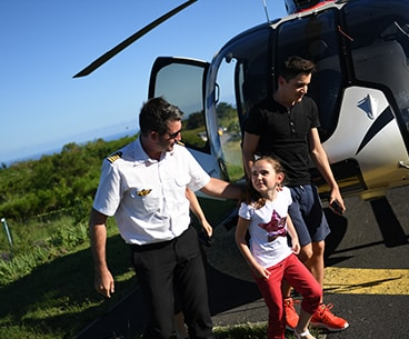 helicopter private reunion island