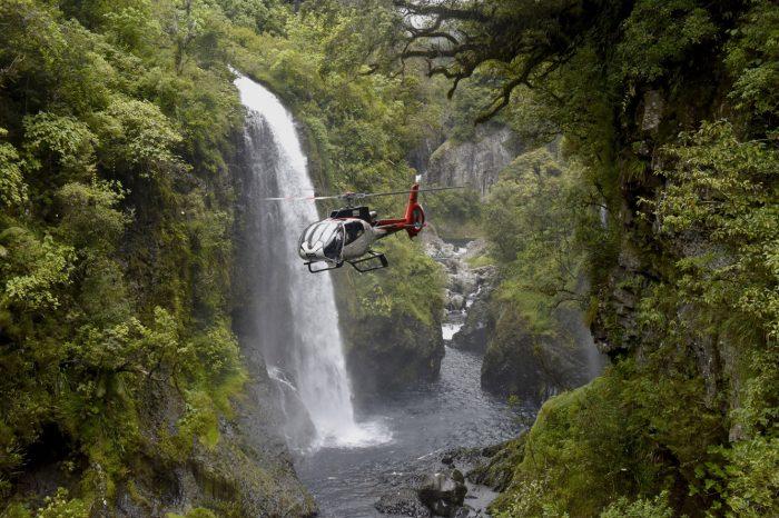 Im Herzen der Wasserfälle