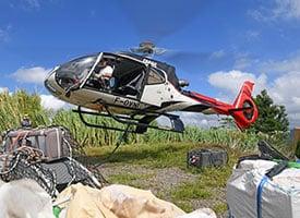 travaux aeriens helicoptere la reunion