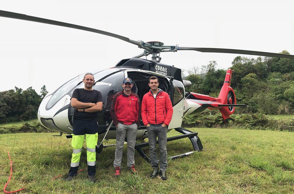 Corail Helicopteres en partenariat avec ONF