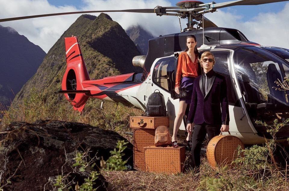 Corail Hélicoptères dans le magazine Printemps