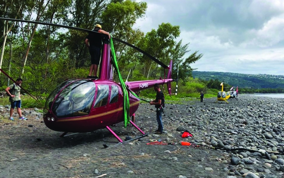 Quand un hélicoptère tombe en panne …