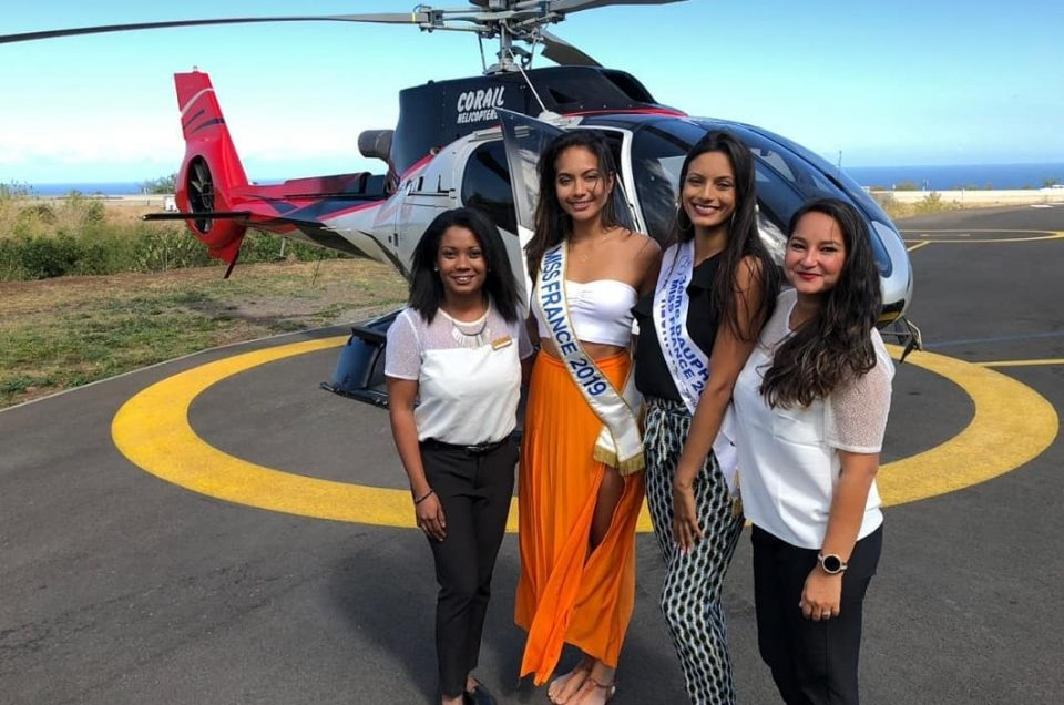 miss france 2019 corail helicopteres