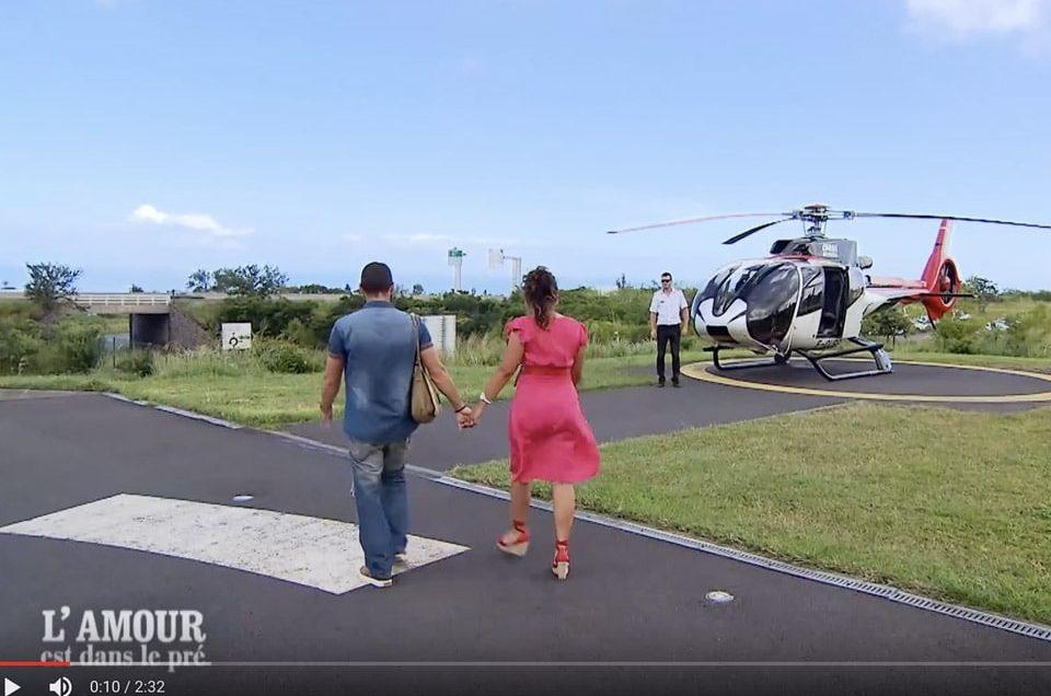 L'amour est dans le pré…et chez Corail Hélicoptères!