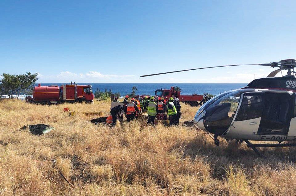 Carnet Corail Hélicoptères : entre émotions et éruption…