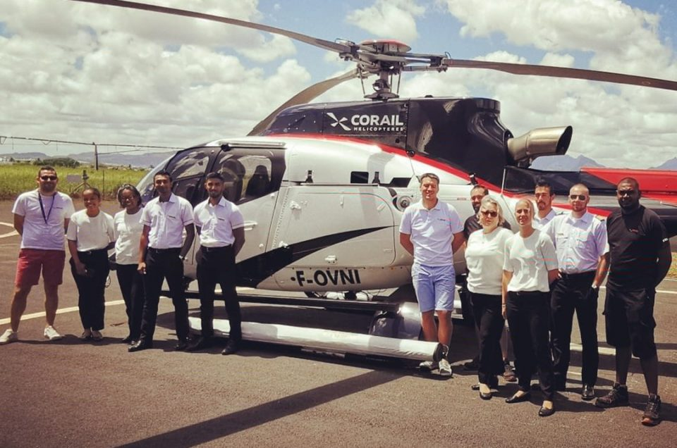 Maurice corail helicopteres