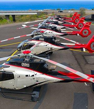 La flotte helicopteres
