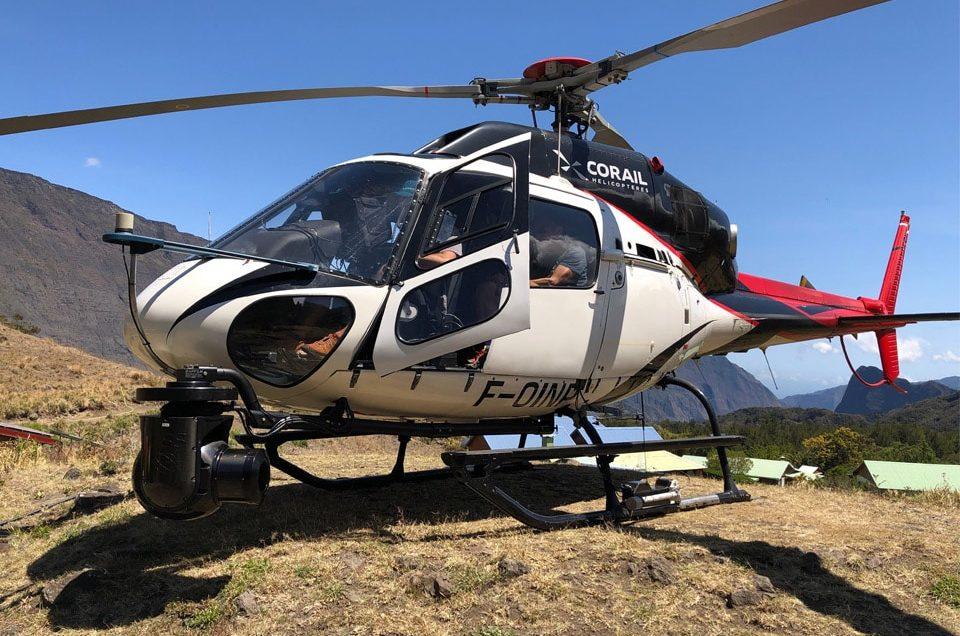 Corail Hélicoptères au coeur de l'aventure GRAND RAID 2018