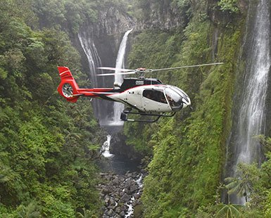 helicopter reunion island