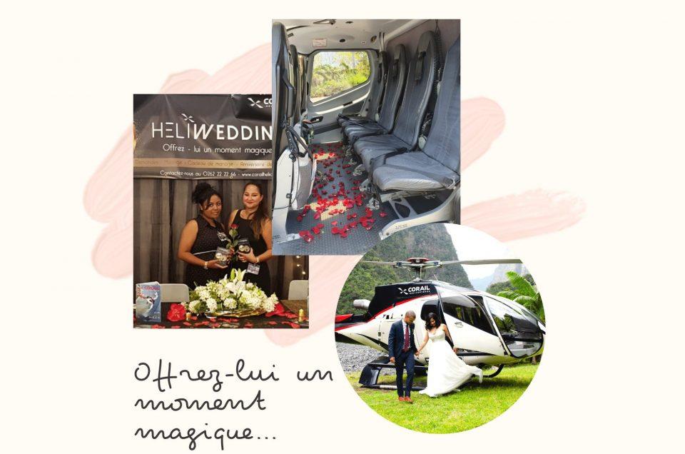 CORAIL HELICOPTERES FAIT SON SHOW AU SALON DU MARIAGE 2019!