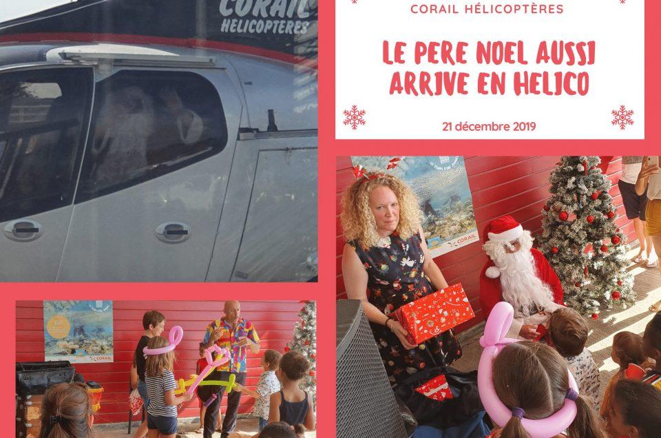 Le Père Noël est passé chez Corail Hélicoptères!