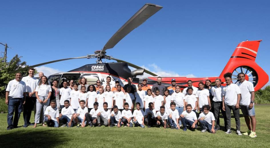 LUMIERE SUR… La collaboration entre Corail Hélicoptères et l'Association Mille Sourires.