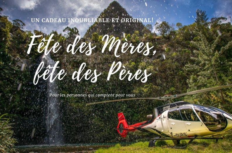 Bon cadeau : Faites plaisir à vos parents avec Corail Hélicoptères